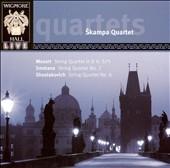 Skampa String Quartet/Mozart: String Quartet No.21 K.575; Smetana: String Quartet No.2; Shostakovich: String Quartet No.8 Op.110 / Skampa Quartet[WHLIVE0019]