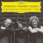 マルタ・アルゲリッチ/Shostakovich: Piano Trio, Tchaikovsky / Piano Trio Op.50 / Martha Argerich(p), Gidon Kremer(vn), Mischa Maisky(vc)[4593262]