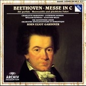 ジョン・エリオット・ガーディナー/Beethoven: Messe in C Op.86, Ah, Perfido! Op.65, Meerestille &Gluckliche Fahrt Op.112 / William Kendall(T), Charlotte Margiono(S), John Eliot Gardiner(cond), Monteverdi Choir, etc    [4353912]