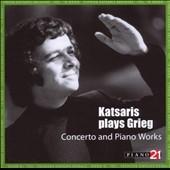 シプリアン・カツァリス/Katsaris Plays Grieg -Piano Concerto Op.16, Peer Gynt Suite No.1 Op.46, Impressions -Hommage a Chopin Op.73-5, etc / Cyprien Katsaris(p), Horst Neumann(cond), Leipzig Radio SO[P21028A]