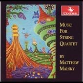 オックス弦楽四重奏団/Music for String Quartet by Matthew Malsky [CRC3070]