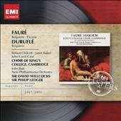 ケンブリッジ・キングズ・カレッジ合唱団/Faure: Requiem Op.48, Pavane Op.50; Durufle: Requiem Op.9[CDMW6230822]