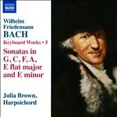 ジュリア・ブラウン/W.F.Bach: Keyboard Works Vol.5[8573177]