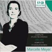Marcelle Meyer - Complete Studio Recordings 1925-1957 CD