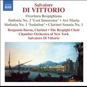 ニューヨーク室内管弦楽団/S.di Vittorio: Overtura Respighiana, Sinfonias No.1, No.2, etc[8572333]
