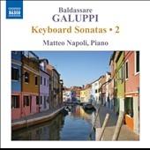 マッテオ・ナポリ/Galuppi: Keyboard Sonatas Vol.2[8572490]