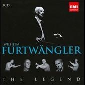 ヴィルヘルム・フルトヴェングラー/Wilhelm Furtwangler - The Legend<初回生産限定盤>[CZS9081192]