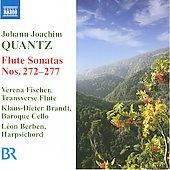 ヴェレナ・フィッシャー/J.J.Quantz: Flute Sonatas No.272-No.277 / Verena Fischer, Klaus-Dieter Brandt, Leon Berben[8557805]