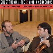 Tchaikovsky Large Symphony Orchestra/SHOSTAKOVICH:VIOLIN CONCERTO NO.1/NO.2:DMITRI KOGAN(vn)/MAXIM SHOSTAKOVICH(cond)/TCHAIKOVSKY SO [DE3363]