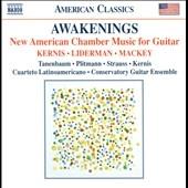 デイヴィッド・タネンバウム/Awakenings - New American Chamber Music for Guitar[8559650]