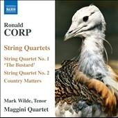 マジーニ弦楽四重奏団/R.Corp: String Quartets No.1