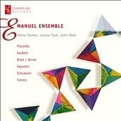 Emanuel Ensemble/Emanuel Ensemble - Kapustin, Piazzolla, Gaubert, Farrenc, Schumann, Borne [CHRCD023]