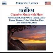 フェンウィック・スミス/N.Rorem: Chamber Music with Flute - Mountain Song, Romeo and Juliet, Trio, etc[8559674]