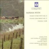 Hyde: Piano Concertos Nos 1 & 2, Village Fair