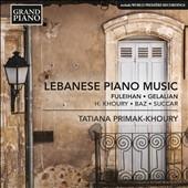 タチアナ・プリマク=フーリー/Lebanese Piano Music [GP715]