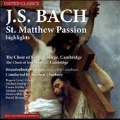 J.S.Bach: St. Matthew Passion (Highlights)