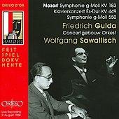 フリードリヒ・グルダ/モーツァルト: 交響曲第25番&第40番、ピアノ協奏曲第14番[C795091DR]