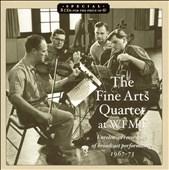 ファイン・アーツ弦楽四重奏団/The Fine Arts Quartet At Wfmt Radio: Unreleased Recordings Of Broadcast Perfoemances 1967-1973: Beethoven, Mozart, Haydn, Brahms, Hindemith, Martinon, Husa, Shifrin[M&A1154]