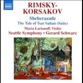 ジェラード・シュワルツ/Rimsky-Korsakov: Sheherazade Op.35, Tale of Tsar Saltan Suite Op.57, etc[8572693]