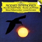 """Mozart: Symphonien 35 """"Haffner"""" & 41 """"Jupiter"""" / Bernstein"""