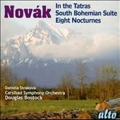 ダグラス・ボストック/V.Novak: In The Tatras, South Bohemian Suite & Eight Nocturnes [ALC1199]