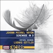 ルードヴィヒ・ギュトラー/J.M.Haydn: Serenade in D [C8003]