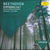 ミハイル・プレトニョフ/Beethoven: Symphony No.5 &No.7[4783379]