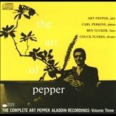 The Art Of Pepper:...Volume Three