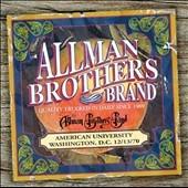 The Allman Brothers Band/American University Washington, D.C. 12/13/1970[ALBCD91111]