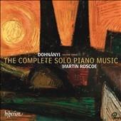 マーティン・ロスコー/Dohnanyi: The Complete Solo Piano Music Vol.3[CDA68033]