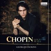 ショパン: 後期ピアノ曲集