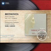 エミール・ギレリス/Beethoven: Piano Concertos No.4 &No.5