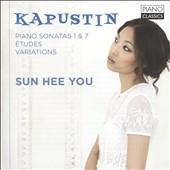 ユ・ソンヒ/Kapustin: Piano Sonatas No.1, No.7, Etudes, Variations [PCL0098]