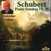 スヴャトスラフ・リヒテル/Schubert: Piano Sonatas No.19 D.958, No.21 D.960[ALC1074]