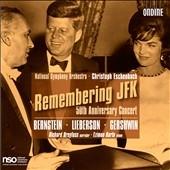 ワシントン・ナショナル交響楽団/Remembering JFK - 50th Anniversary Concert: Bernstein, Lieberson, Gershwin[ODE1190]