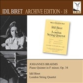 イディル・ビレット/Idil Biret Archive Edition Vol.18 - Brahms[8571320]