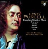 ムジカ・アンフィオン/H.Purcell : Complete Chamber Music -12 Sonatas of 3 Parts, 10 Sonatas of 4 Parts, Overture, etc / Pieter-Jan Belder(cemb), Musica Amphion[BRL93647]