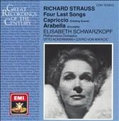 Strauss: 4 Last Songs, etc / Schwarzkopf, Philharmonia