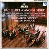 Pachelbel: Canon 7 Gigue;  et al / Pinnock, English Concert