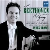 ジェームズ・ブローン/A Beethoven Odyssey Vol. 3 - Piano Sonatas No.2, No.17