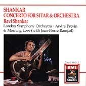 Shankar: Sitar Concerto, etc / Shankar, Previn, London Sym