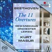 クルト・マズア/Beethoven: The 11 Overtures [PTC5186148]