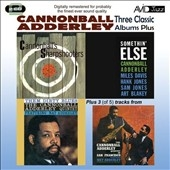 Cannonball Adderley/Three Classic Albums Plus[AMSC1022]