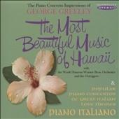 Most Beautiful Music of Hawaii / Piano Italiano CD