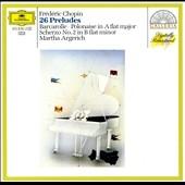 マルタ・アルゲリッチ/Chopin: 24 Preludes Op.28, Barcarolle Op.60, etc / Martha Argerich(p)[4158362]