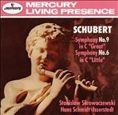 Schubert: Symphonie 9, 6 / Skrowaczewski, Schmidt-Isserstedt