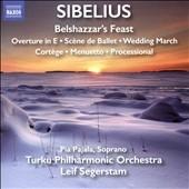 レイフ・セーゲルスタム/Sibelius: Belshazzar's Feast, Overture in E, Scene de Ballet, Wedding March, Cortege, Menuetto, Processional[8573300]