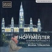 ビリアーナ・ツィンリコヴァ/F.A.Hoffmeister: Sonatas for Piano Vol.3[GP668]