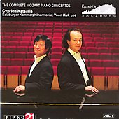 シプリアン・カツァリス/Mozart: Piano Concertos Vol.5 - No.8 K.246, No.14 K.449, No.15 K.450[P21026N]