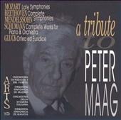 Tribute to Peter Maag -Mozart, Beethoven, Mendelssohn, et al